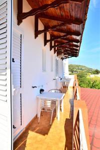 A balcony or terrace at Hotel Villa Bernardina