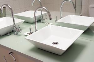 A bathroom at Beau Monde International