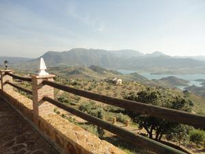 Vista general de una montaña o vista desde la villa