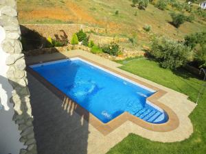Vista de la piscina de Rancho Los Cuñaos o alrededores