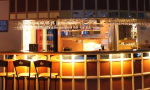 Loungen eller baren på Hotel Jokkmokk
