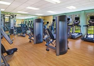 The fitness center and/or fitness facilities at The Equinox, a Luxury Collection Golf Resort & Spa, Vermont