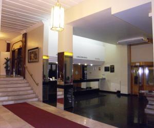 The lobby or reception area at Hotel São Paulo Inn