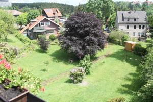 Blick auf Ulrichshof aus der Vogelperspektive