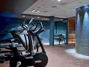 Fitnesscentret og/eller fitnessfaciliteterne på Clarion Hotel Ernst