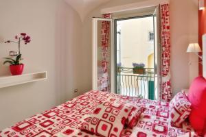 Letto o letti in una camera di Apartments Amalfi Design