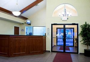 The lobby or reception area at Residence Inn South Bend