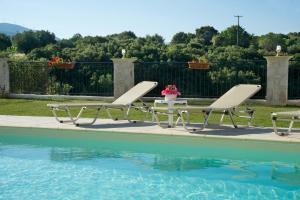 The swimming pool at or near Villa Zoi