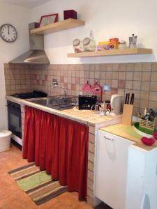 Cucina o angolo cottura di Casa degli Ubaldi