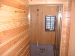 A bathroom at Shukubo Komadori-Sanso