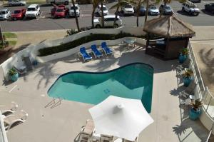A view of the pool at Chateau Royale Beach Resort or nearby