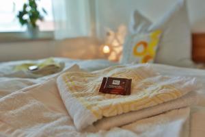 Ein Bett oder Betten in einem Zimmer der Unterkunft Studio 14/2