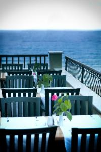 A restaurant or other place to eat at Blue Sky Hotel - All Inclusive
