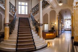 منطقة الاستقبال أو اللوبي في Hotel Royal St Georges Interlaken MGallery Collection