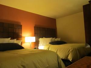 A bed or beds in a room at Matterhorn Inn Ouray