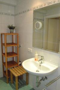 A bathroom at Apartment Luma an der Schiwiese