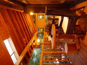 A restaurant or other place to eat at Ryokan Yumotoso