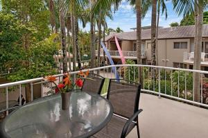 A balcony or terrace at Clearwater Noosa Resort