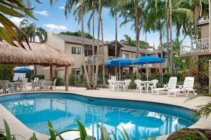 The swimming pool at or near Clearwater Noosa Resort