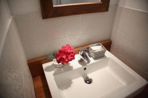 Salle de bains dans l'établissement Hotel du Cap