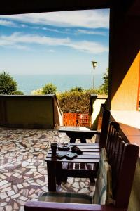 Un balcon sau o terasă la Vila Bella Vista
