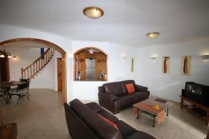 Ein Sitzbereich in der Unterkunft Casa Ronda