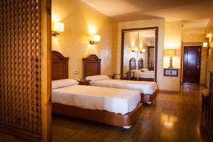 Cama o camas de una habitación en Balneario San Nicolas