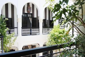 Balcon ou terrasse dans l'établissement Riad Hayane