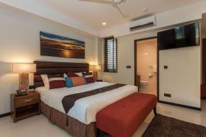 ザ サマセット ホテルにあるベッド