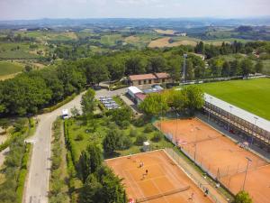 Vista aerea di Camping Il Boschetto Di Piemma