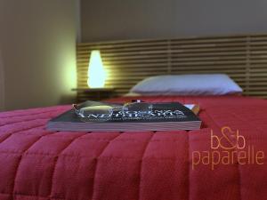 Letto o letti in una camera di B&B Paparelle