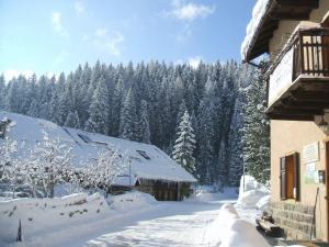 Ostello SanMartino during the winter
