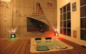 Un baño de Old England House