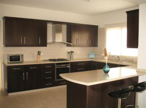 Kuhinja oz. manjša kuhinja v nastanitvi Villa Jeanne
