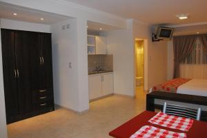 Una cocina o kitchenette en Astro Apart Hotel