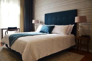 Uma cama ou camas num quarto em Hotel do Parque