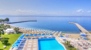 A view of the pool at Bomo Palmariva Beach Hotel or nearby