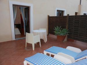 Area soggiorno di Hotel Villa Meligunis