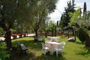 Zahrada ubytování Hotel Olioso