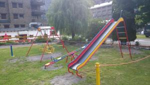 Children's play area at Camping Pla