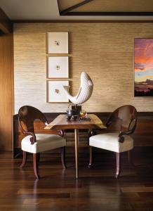 A seating area at Four Seasons Resort Lana'i