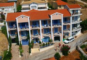 Olive Bay Hotel с высоты птичьего полета