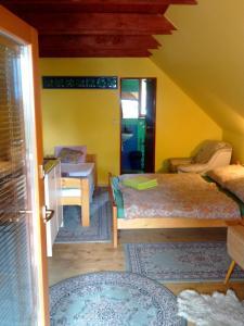 Postel nebo postele na pokoji v ubytování Apartments Tatiana