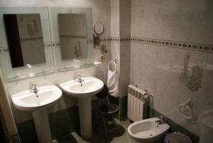 Ванная комната в Hotel Praderón