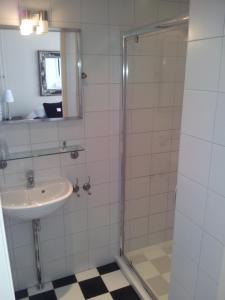 Een badkamer bij Welkom-in