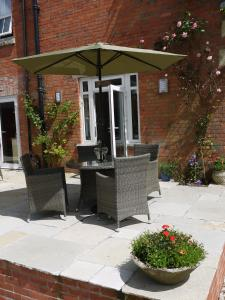 A porch or other outdoor area at Three Ivy Cross