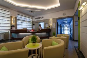Lounge nebo bar v ubytování Hotel Alpex