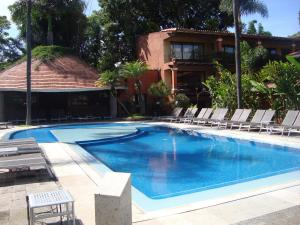 The swimming pool at or near Hosteria Las Quintas Hotel & Spa