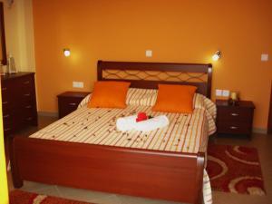 Ένα ή περισσότερα κρεβάτια σε δωμάτιο στο Eleftheria's Studios