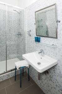 Koupelna v ubytování Bed and breakfast Placzek